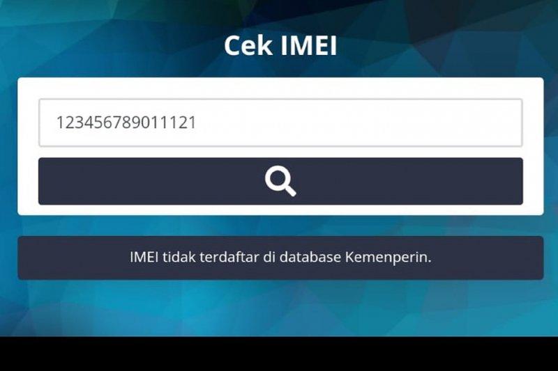 Tampilan laman cek IMEI (https://kemenperin.go.id/imei/)