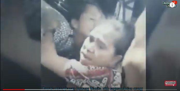 Cuplikan video praktik kawin tangkap di Sumba baru-baru ini. (Foto: Youtube/Oleawa Channel)