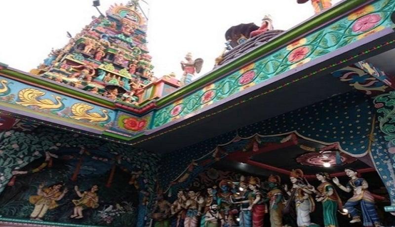 Kuil Shri Mariamman di Medan. Foto: Foto: Instagram/@rizkisitepu