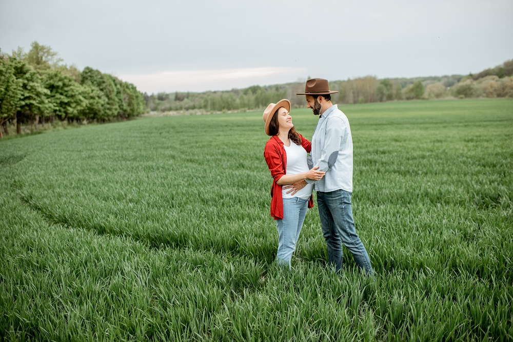 Ilustrasi pasangan bahagia. (Foto: Elements Envato)