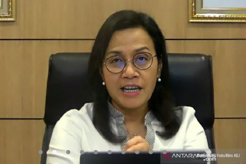 Menteri Keuangan Sri Mulyani Indrawati. (Foto: Antara/HO-Kemenkeu/pri.)