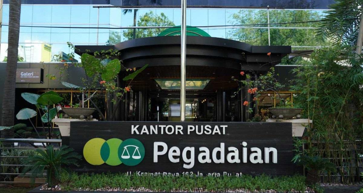 Kantor Pusat Pegadaian (Foto: Pegadaian)
