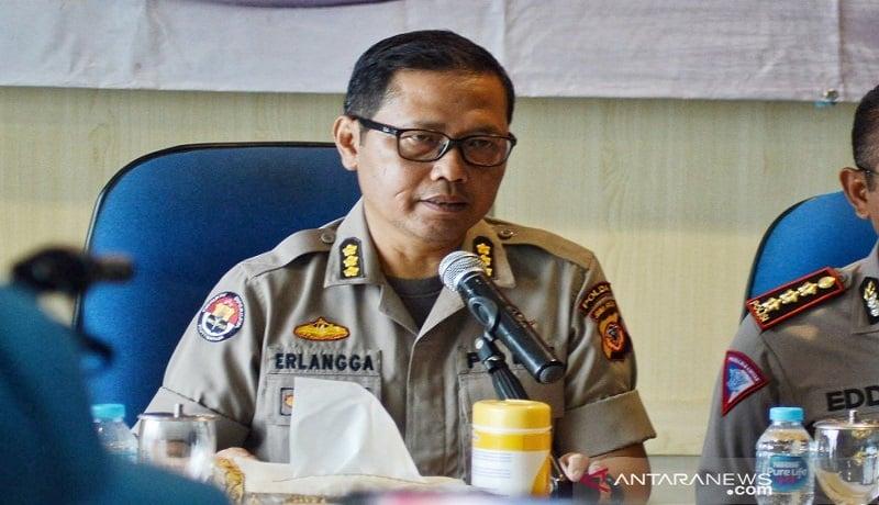 Kabidhumas Polda Jawa Barat, Kombes Pol Saptono Erlangga. Foto: Antara
