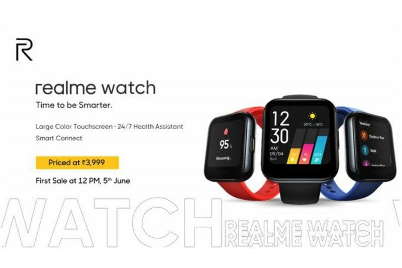 Realme Watch, Jam Pintar Harga Nggak Sampai Sejuta