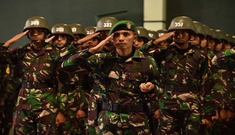 Sebanyak 364 taruna Akademi Militer mengikuti upacara pembukaan pendidikan tingkat I. Foto: Antara