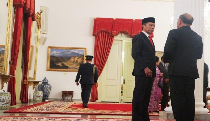 Presiden Joko Widodo di Istana Bogor. Foto: Antara