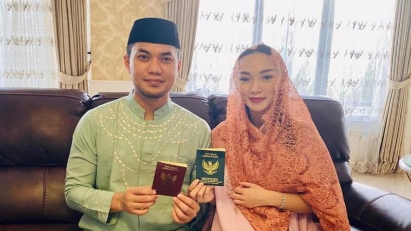 Deretan Momen Bahagia Zaskia Gotik dan Sirajuddin di Awal Juni