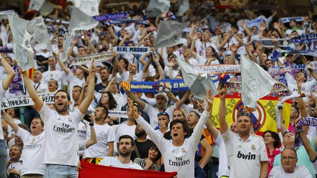 Suporter Real Madrid. Foto: Stefan Wermuth/Reuters