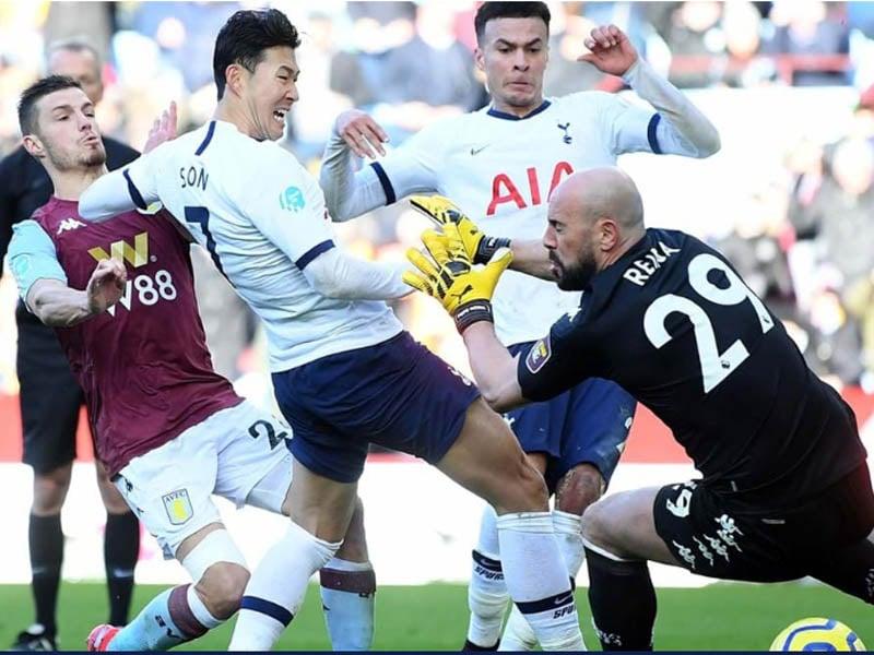 Tottenham Hotspur memetik kemenangan dramatis saat melawan Aston Villa pada pekan ke-26 Liga Inggris 2019/2020. Foto: Tottenham Hotspur