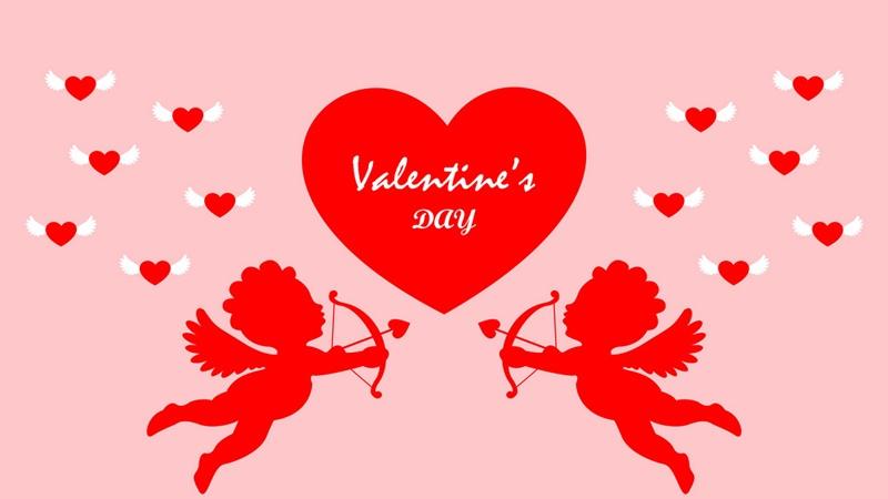 Valentine dirayakan seetiap 14 Februari (sumber: Vector Stock)