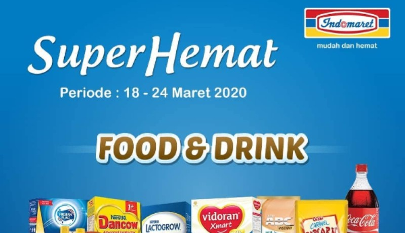 Promo Super Hemat Indomaret (Foto : @indomaret/instagram)