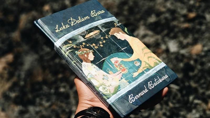 Buku Luka Dalam Bara (foto: IG @cepubacabuku)