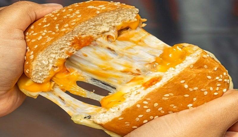 Mozarella cheese burger. Foto: Instagram_burgerking