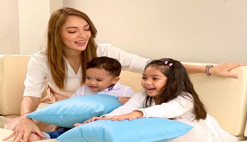Dokter Reisa Berikan Kiat Cuci Tangan Aman untuk Anak. Foto: IG @reisabrotoasmoro