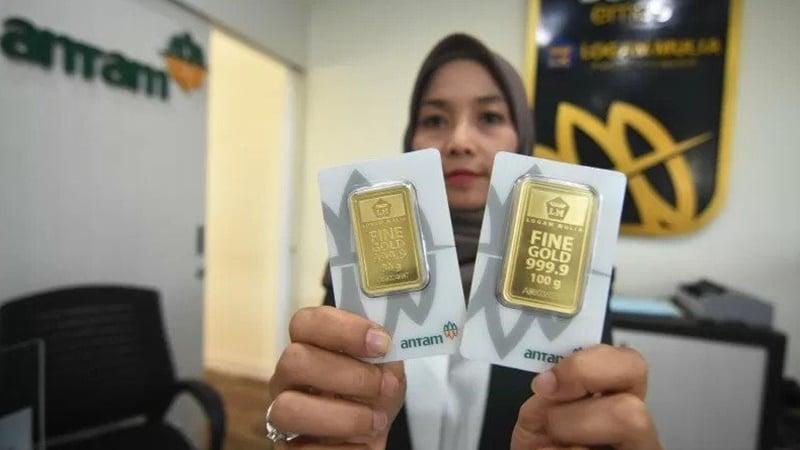 Rincian Harga Jual 1 April 2020: Emas Antam Turun Gede, Tapi…