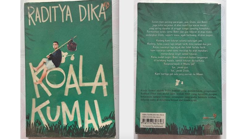 Novel Koala Kumal karya Raditya Dika (foto: Mia Kamila)