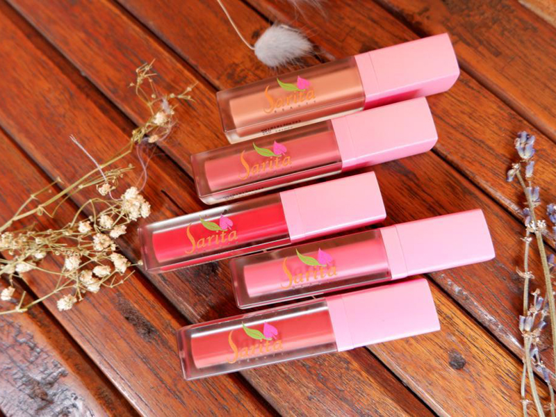 Lip cream Sarita Beauty. Foto: Sarita Beauty