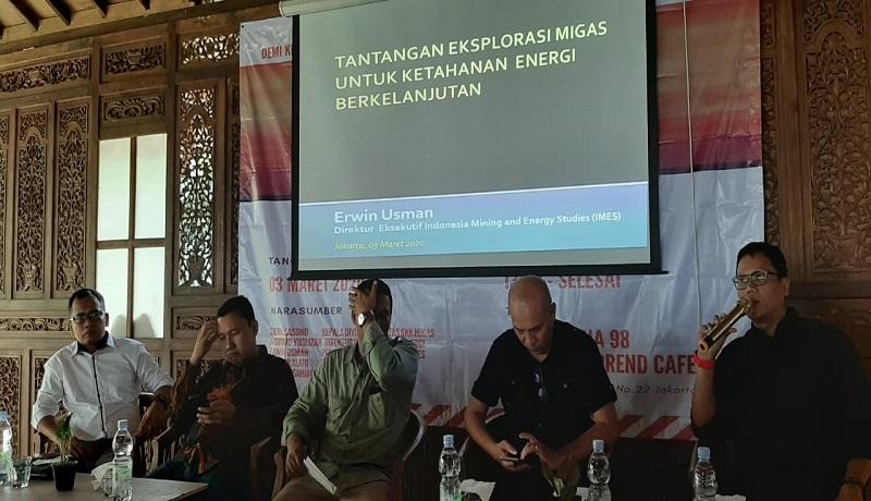 Semimar Nasional Ketahanan Energi di Jakarta. Foto: GenPI.co