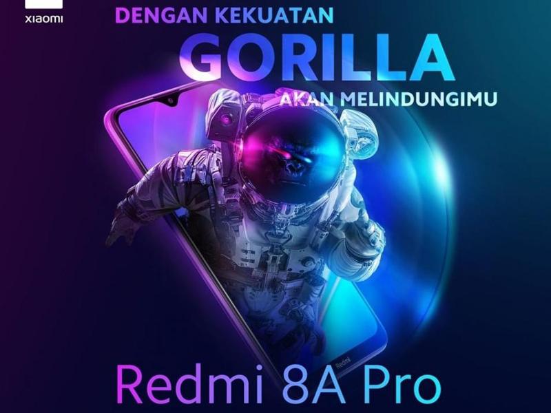 Pengumuman peluncuran Redmi 8A Pro. Foto: Twitter/Xiaomiindonesia