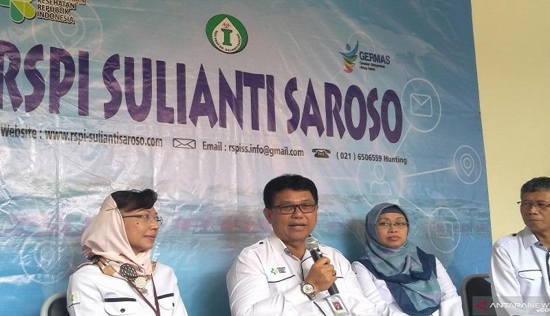 Direktur Utama RSPI Sulianti Saroso, Mohammad Syahril. Foto: Antara