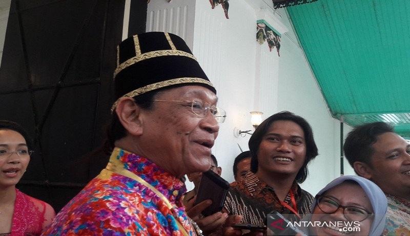 Raja Keraton Yogyakarta Sultan Hamengku Buwono X. Foto: Antara