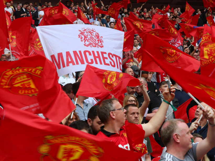 Suporter Manchester United. Foto: Manutd