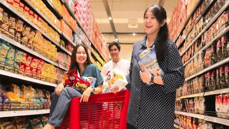 Transmart Carrefour memberikan promo akhir pekan (foto: SC IG @transmartcarrefour)