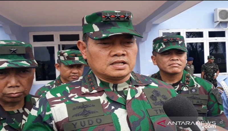 Panglima Kogabwilhan I Laksamana Madya TNI Yudo Margono. Foto: Antara