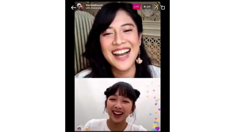 Viral Dita Karang Wong Yogya Ditantang Dian Sastro Berbahasa Jawa