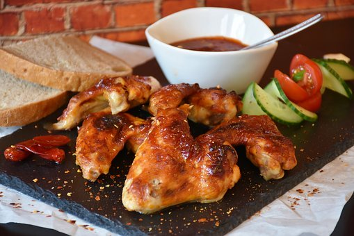 Ilustrasi hidangan sayap ayam (foto: Pixabay)