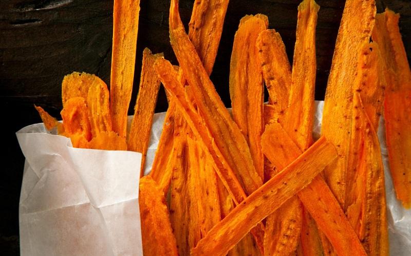 Keripik wortel ( Foto : usaha rumahan)