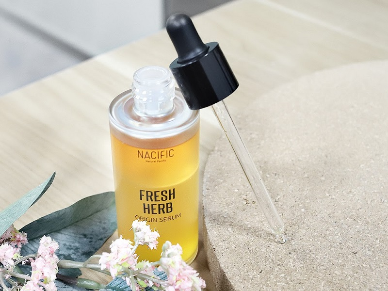 Nacific fresh herb origin serum (Foto :beauty journal)
