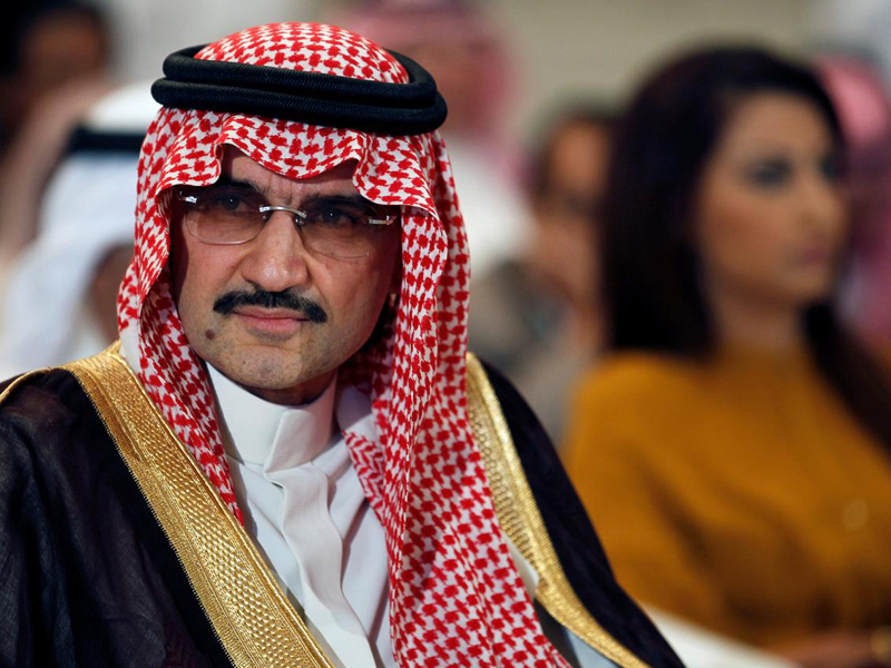 Pangeran Alwaleed bin Talal. Foto: Hamad I Mohammed/Reuters