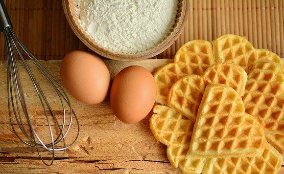 Bikin Waffle ala Rumahan, Resepnya Gampang Banget