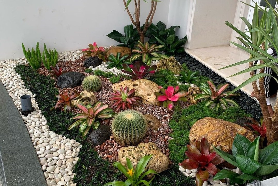 4 Tips Membuat Taman Cantik di Rumah Minimalis