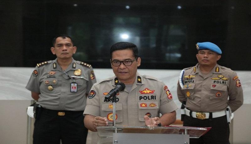 Kepala Biro Penerangan Masyarakat Polri Brigjen Raden Prabowo Argo Yuwono. Foto: Antara