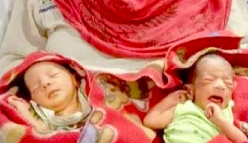 Lucunya Bayi Kembar Diberi Nama Covid dan Corona