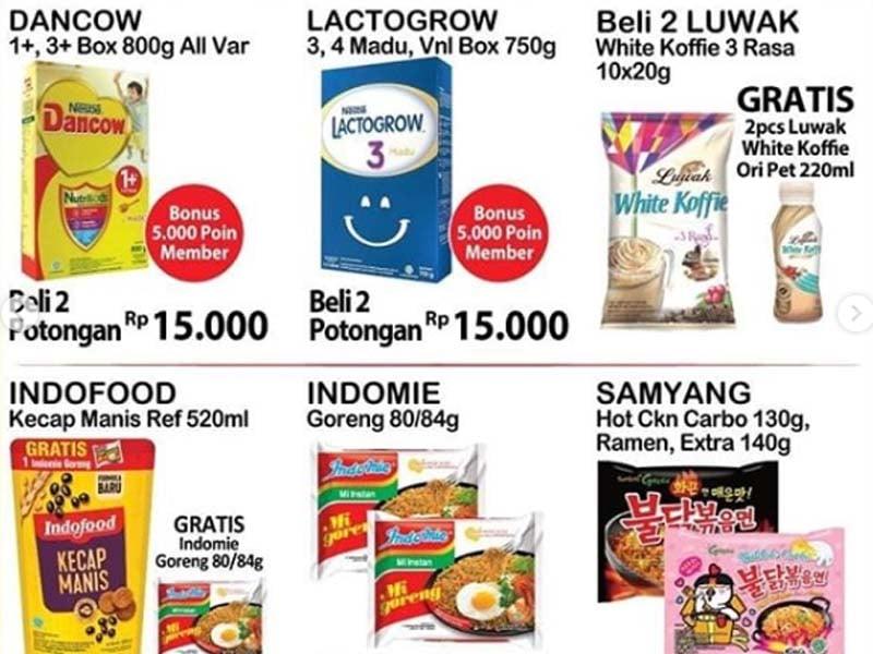 Promo Alfamart Cuma Sampai Minggu, Banting Harga Gede Banget