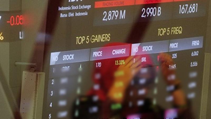 Bursa Efek Indonesia (foto: Antara)
