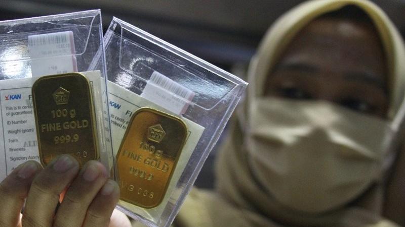 Logam Mulia Global Turun, Giliran Emas 24 Karat Antam yang Ngamuk
