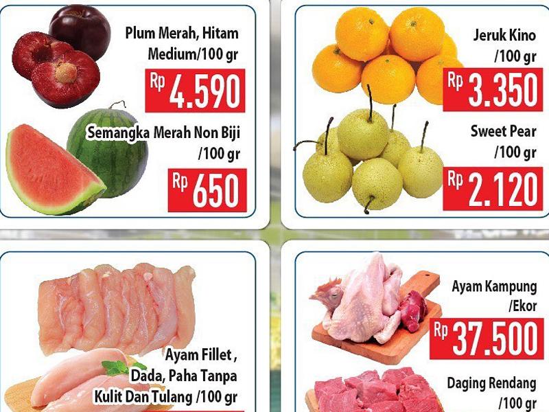 Promo Hypermart: Ayam Kampung, Daging, dan Susu Murah Banget