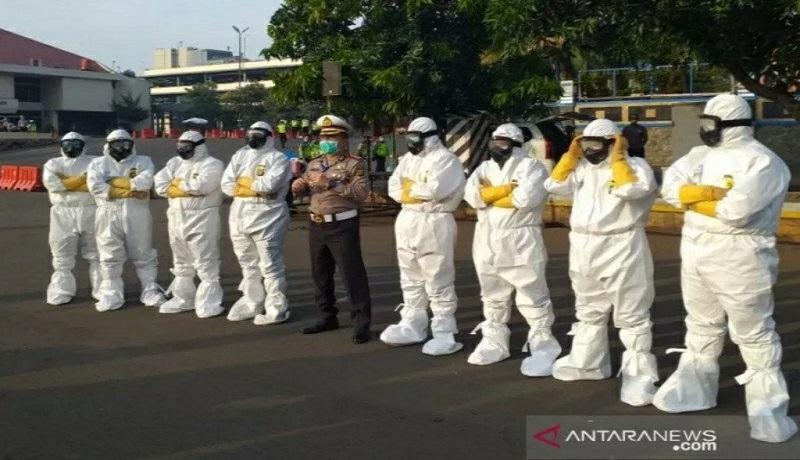 Tenaga medis di Jakarta. Foto: Antara