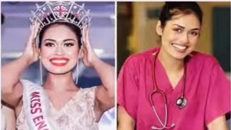 Miss England Gantung Mahkota, Demi Bantu Inggris Atasi Corona