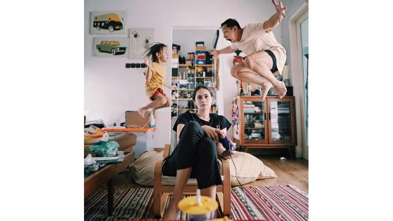 Potret Ringgo Agus Kocak Banget saat Harus di Rumah Saja