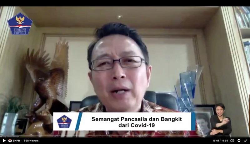 Tung Dasem Waringin sembuh dari corona (BNPB)