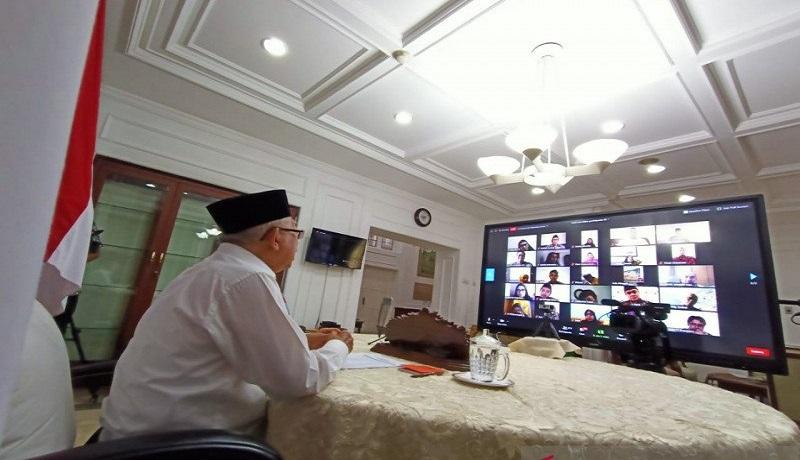 Wakil Presiden Ma'ruf Amin. Foto: Antara