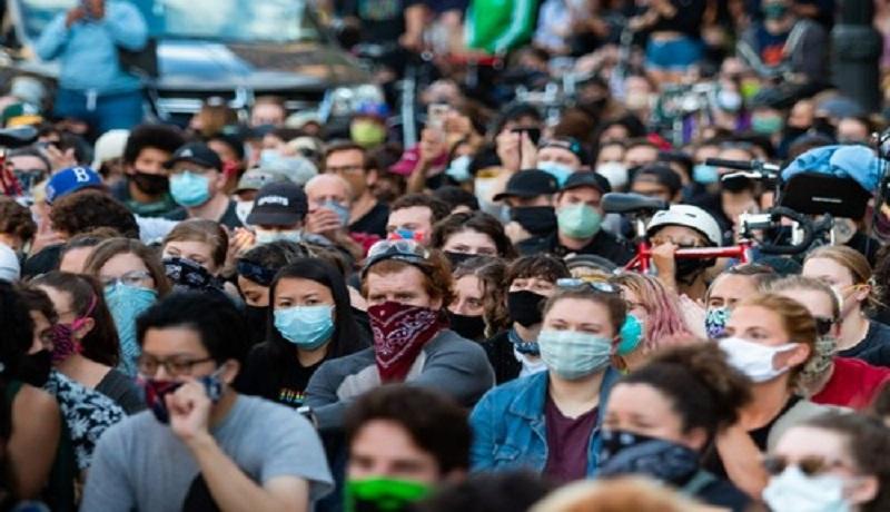 Aksi Demonstrasi, Picu Ledakan Kasus Virus Corona di Amerika