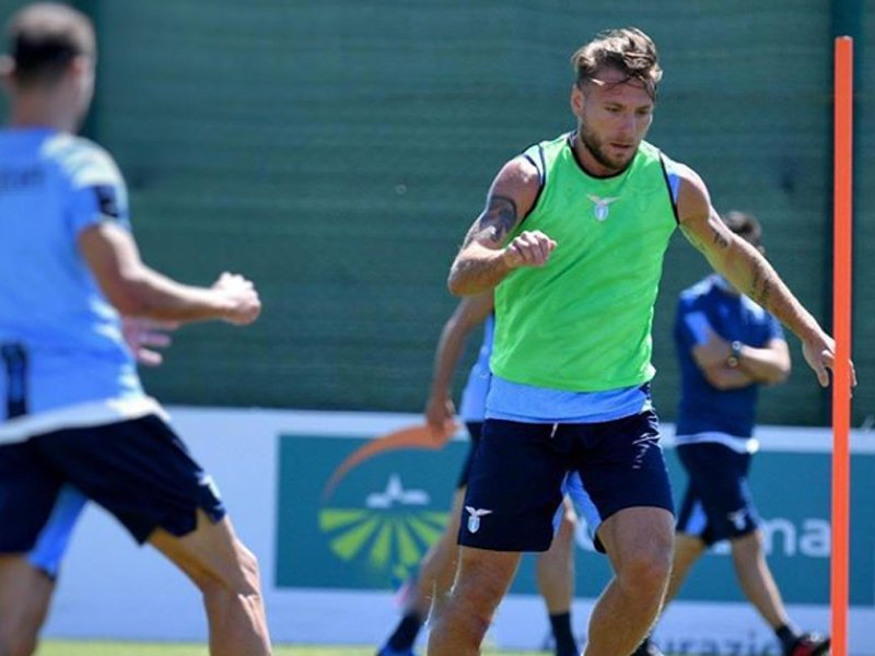 Penyerang Lazio Ciro Immobile. Foto: Instagram/ciroimmobile17