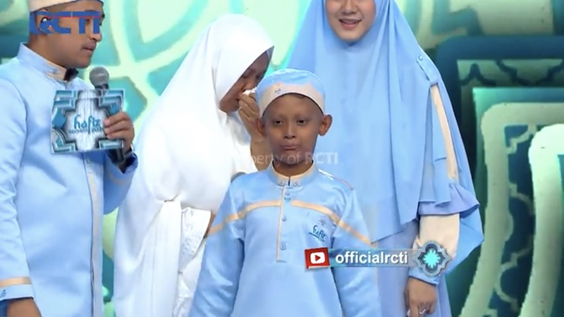 Bersemangat, Keterbatasan Fisik Tak Halangi Habib jadi Hafiz