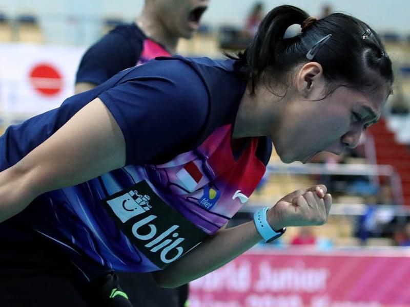 Kejuaraan Dunia Junior 2020, Indah: Nggak Gampang